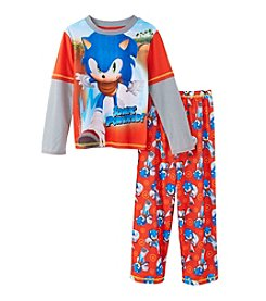 Sonic the Hedgehog Boys' 4-14 2-Piece Pajama Set