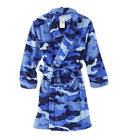 Komar Kids® Boys' 4-14 Camo Fleece Robe