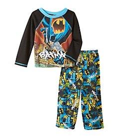 Batman® Boys' 2T-4T 2-Piece Pajama Set