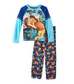 Komar Kids® Boys' 4-12 2-Piece Ice Age Pajama Set