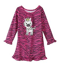 Komar Kids® Girls' 2T-4T Zebra Nightgown
