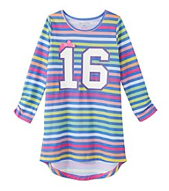 Komar Kids® Girls' 4-16 Striped Nightgown