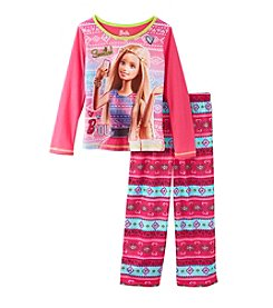 Barbie® Girls' 4-12 2-Piece Barbie Pajama Set