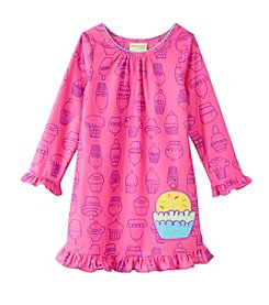 Komar Kids® Girls' 2T-4T Cupcake Nightgown