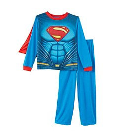 Superman® Boys' 2T-14 2-Piece Superman Cape Pajama Set