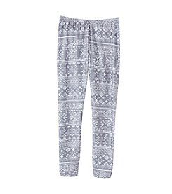 Miss Attitude Girls' 7-16 Fair Isle Leggings