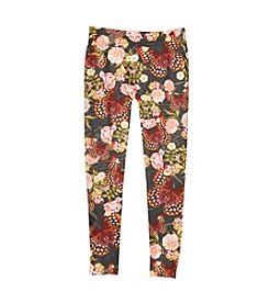 Jessica Simpson Girls' 7-16 Kaylie Floral Seamless Leggings