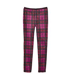 Jessica Simpson Girls' 7-16 Plaid Velveteen Pants