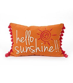 Jessica Simpson Hello Sunshine Decorative Pillow