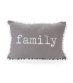 Family Decorative Pillow