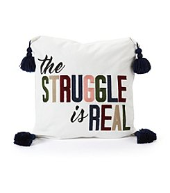 Struggle Is Real Decorative Pillow