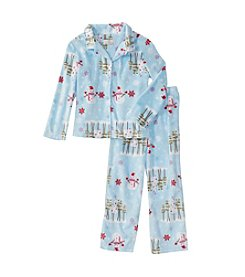 KN Karen Neuburger Kids Printed Fleece Pajama Set