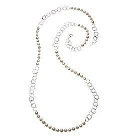 Napier Pearl 42 Inch Strandage Necklace