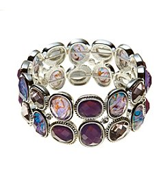 Napier® Two Row Stretch Bracelet
