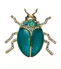Napier Boxed Beetle Pin