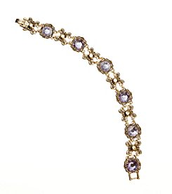 Napier® Boxed Simulated Crystal Bracelet