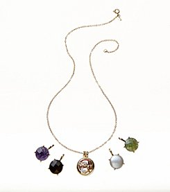 Napier® Boxed Interchangeable Necklace