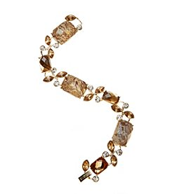 Napier® Boxed Crystal Line Bracelet