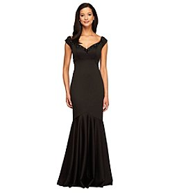 Alex Evenings® Long Empire Waist Dress