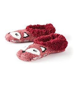 Fuzzy Babba® Fur Fox Slippers