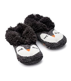 Fuzzy Babba® Faux Fur Owl Slippers