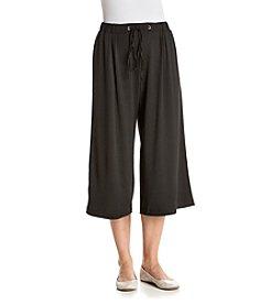 Relativity® Elastic Waist Culotte Pants
