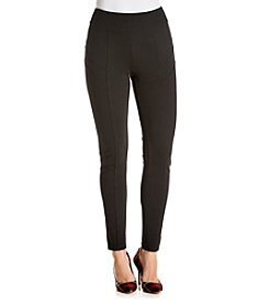 Relativity® Pieced Ponte Legging Pants