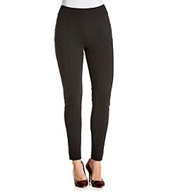 Relativity® Pieced Ponte Legging Pants