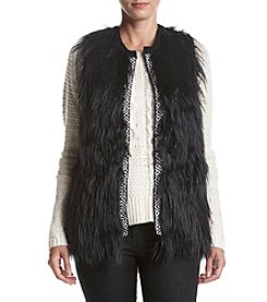AGB® Front Faux Fur Vest