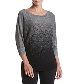 AGB® Ombre Dolman Sleeve Sweater