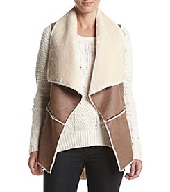 Jones New York® Faux Sherpa Vest