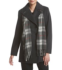 Forecaster Notch Collar Peacoat