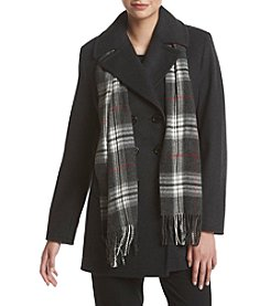 Forecaster® Petites' Notch Collar Peacoat