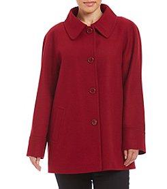 Forecaster Petites' A-Line Raglan Coat