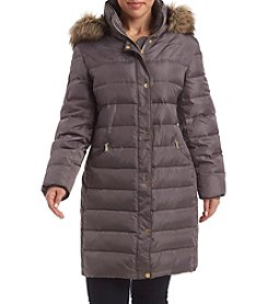 MICHAEL Michael Kors® Plus Size Fly Front Down Jacket