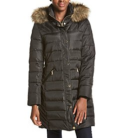 MICHAEL Michael Kors® Petites' Faux Fur Trimmed Hood Down Jacket