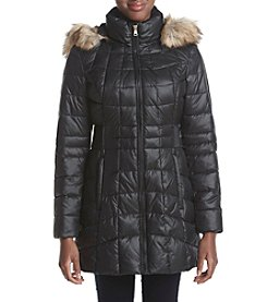 Jones New York® Quilt Puffer Down Jacket