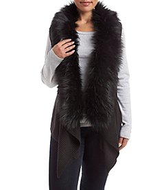 MICHAEL Michael Kors® Plus Size Faux Fur Sweater Vest