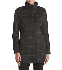 Lucky Brand® Asymmetrical Windowpanel Coat