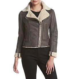 Lucky Brand® Sherpa Lined Moto Jacket