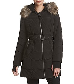 Lucky Brand® Belted Puffer Down Jacket