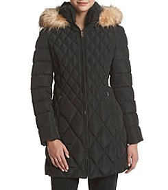 Jessica Simpson Quilted Puffer Down Jacket