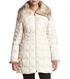 Laundry® Zig Zag Stitch Down Jacket