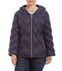 MICHAEL Michael Kors® Plus Size Argyle Chevron Down Jacket