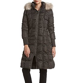 Tahari ASL® Ruched Down Jacket