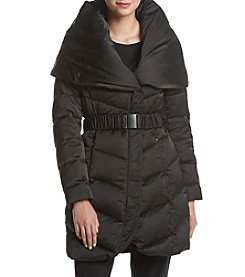 T Tahari Belted Matilda Down Jacket