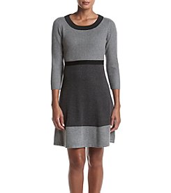 Tommy Hilfiger® Fit And Flare Sweater Dress