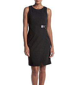Ivanka Trump® Sheath Dress With Buckle