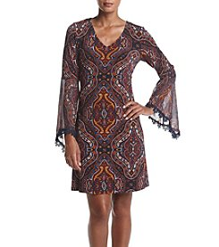 Prelude® Bell Sleeve Trapeze Dress