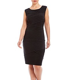 Calvin Klein Plus Size Tier Dress